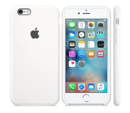 Silicone Case do iPhone 6s biały