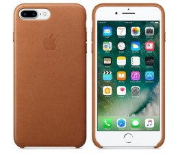 Leather Case iPhone 7/8 Plus Saddle Brown