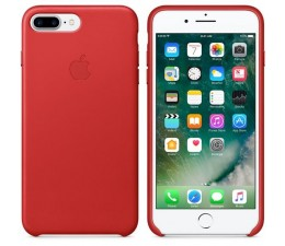Leather Case do iPhone 7 Plus/8 Plus Red